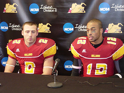 Santino Favot & Chris Wilson speak to the media after the game (FSU Athletics)