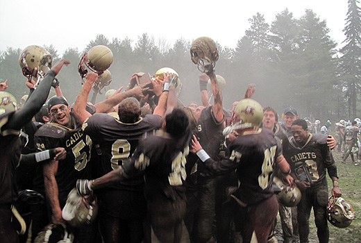 Norwich Defeats Mount Ida, 49-14, to Win ECFC Championship