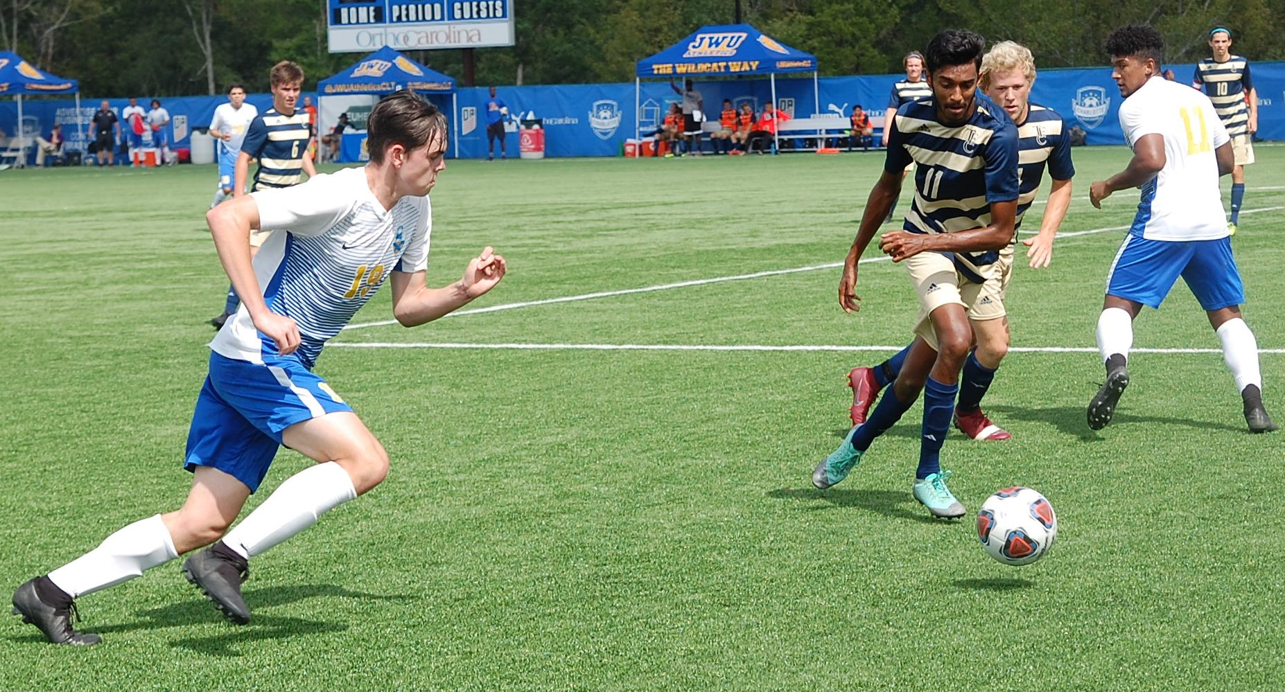 Men's Soccer Shuts Out Screaming Eagles