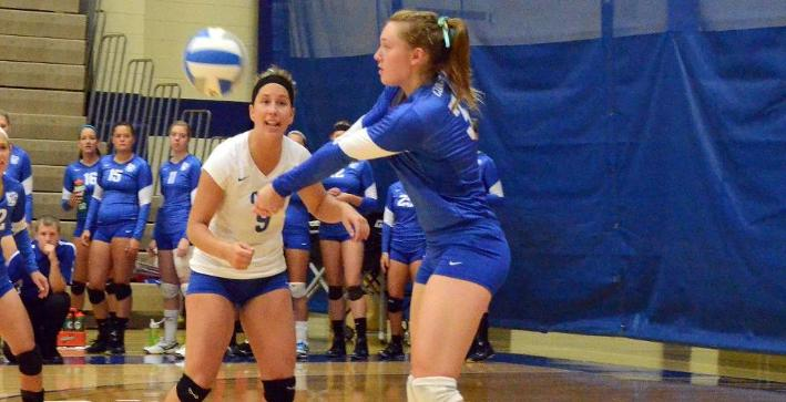 Volleyball loses to Titans, Knights at Pizza Hut Classic