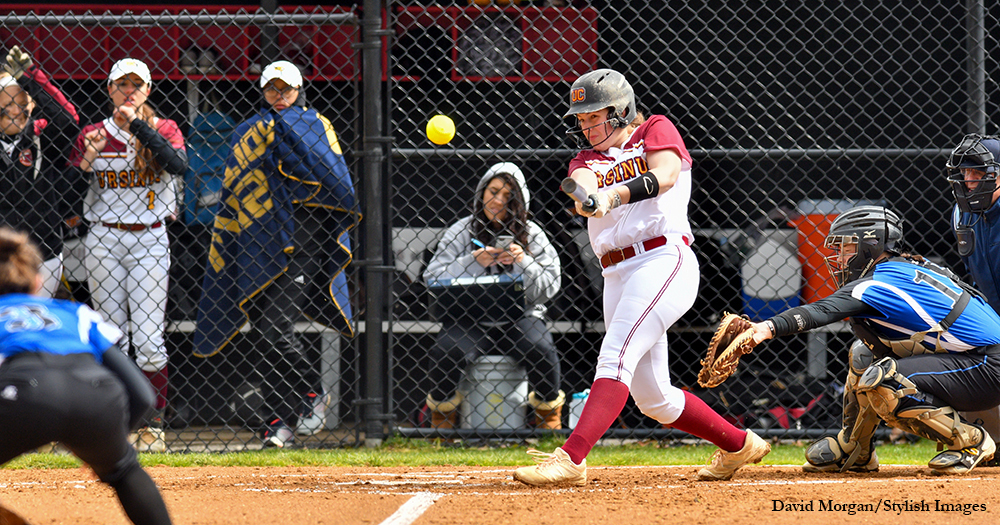 Softball Scores Second Straight Split