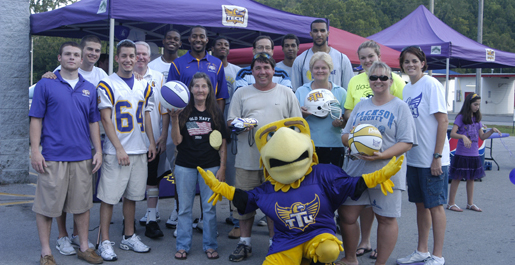 Basketball featured at Purple Pride Caravan stop in Gainesboro