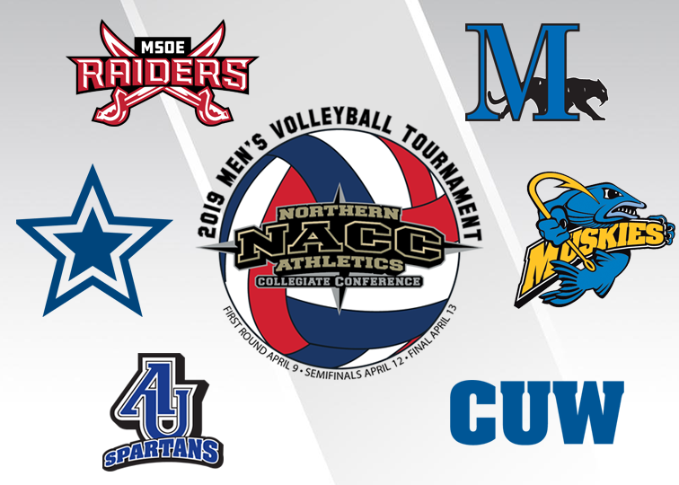 Field Set for 2019 NACC Men's Volleyball Tournament
