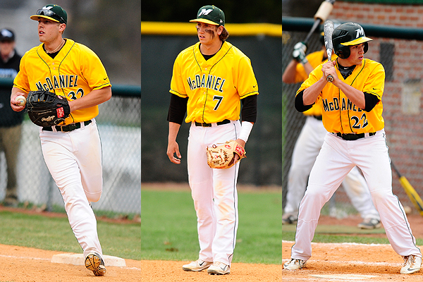Three earn All-CC baseball honors