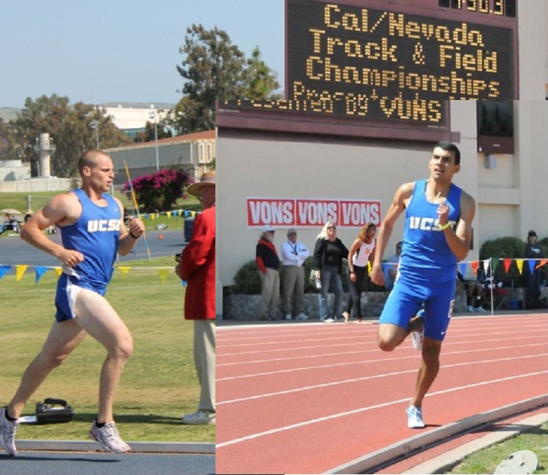 Derek Masterson and Shyan Vaziri Earn Big West Track and Field Honors