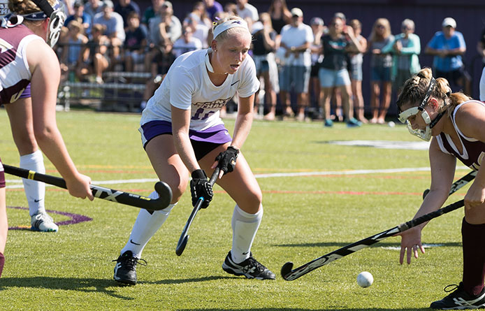 Field Hockey Loses at No. 8 Pace, 3-1, During Season Finale