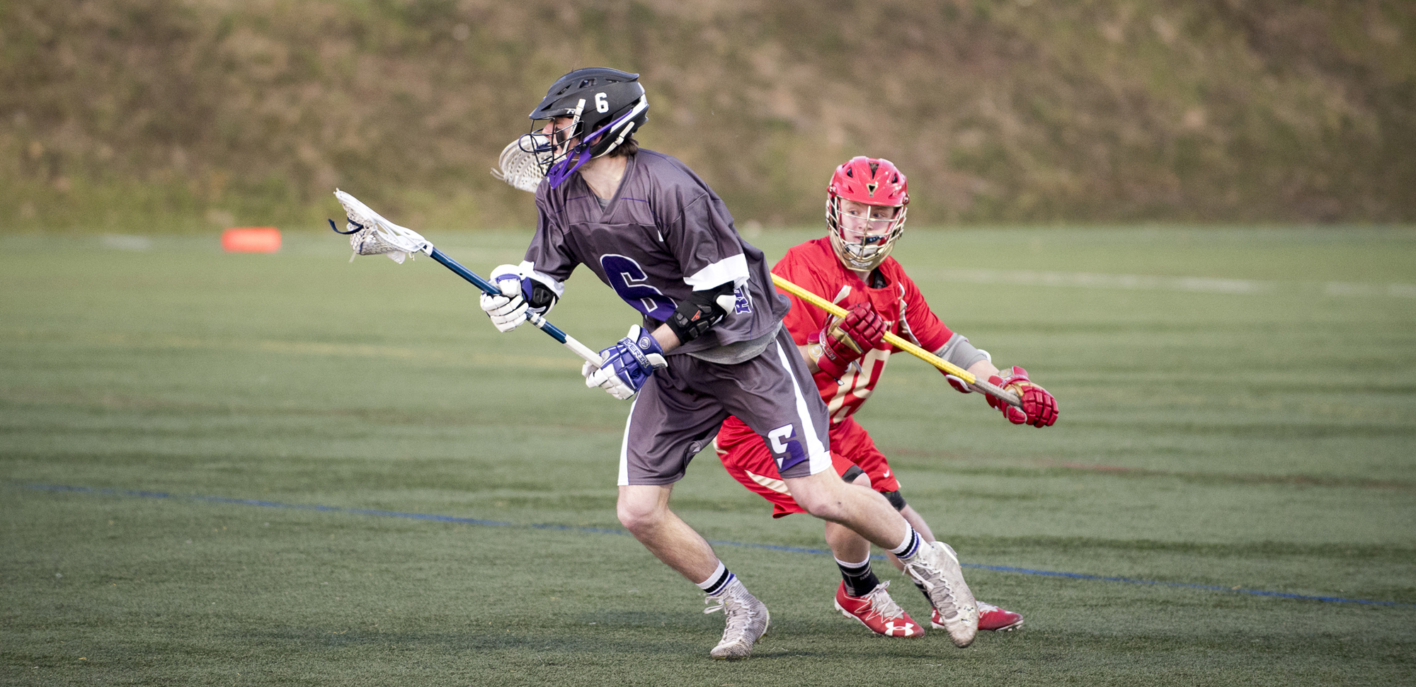 Sophomore attackman Connor Kirkwood had six goals on Saturday, giving him 39 for the season.