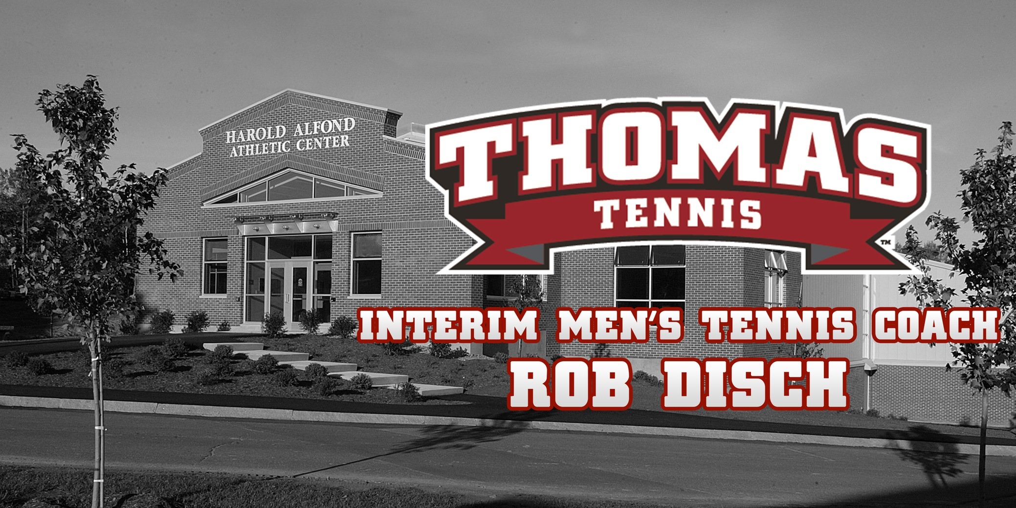 Rob Disch Named Interim Men's Tennis Coach
