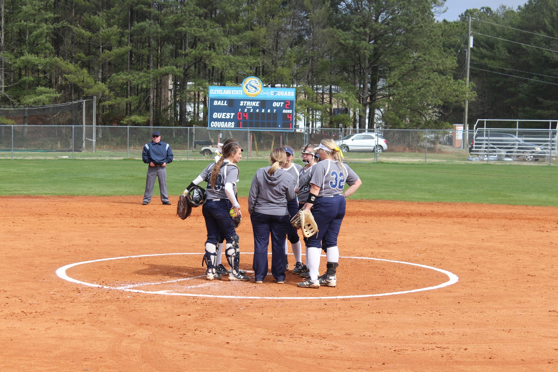 Softball Splits Doubleheader With Vol State