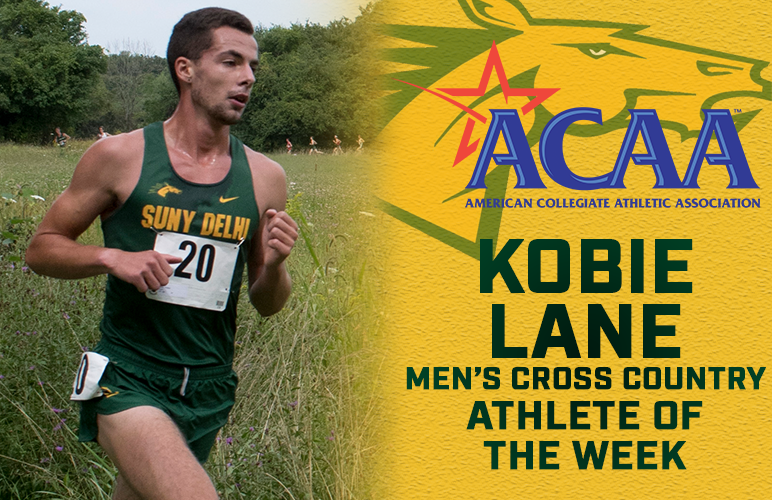 Lane Garners First ACAA Weekly Honor of Season