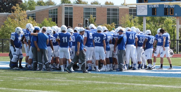 Football picked to finish fifth in NACC Preseason Poll