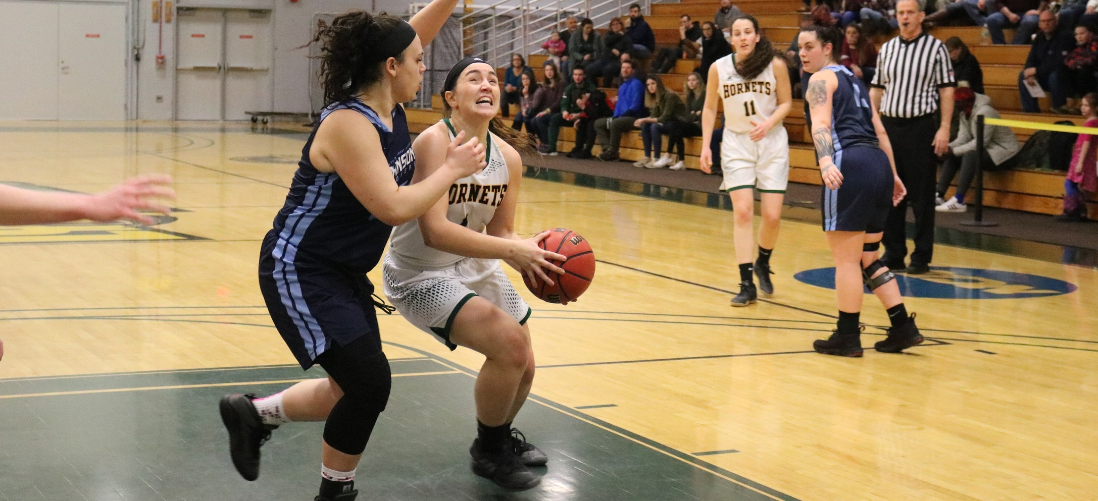 Hornet women run away from Johnson in regular season finale