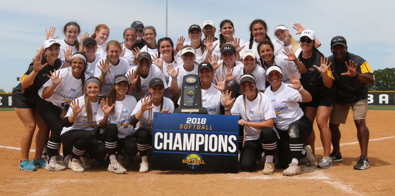 Texas Lutheran Wins Fifth Straight SCAC Softball Championship