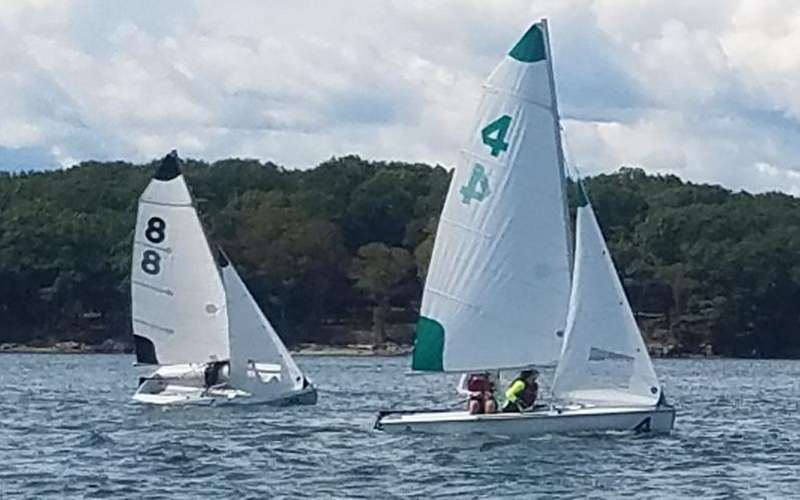 Dinghy Sailing Records Pair Of Top 10 Finishes In Season Opening Events At Maine Maritime