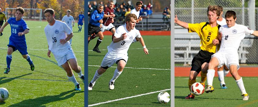 Theo Terris '12, Sam Ocel '13 and Ari Silver '12