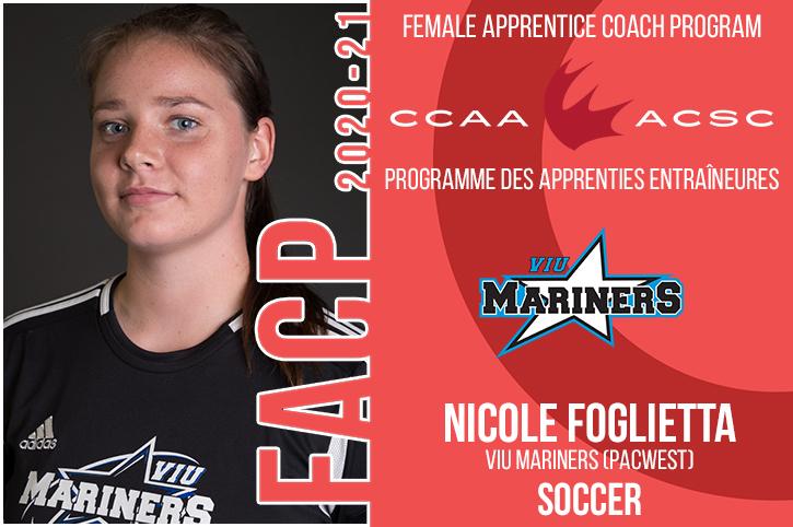 Programme des apprenties entraîneures de l'ACSC : Foglietta