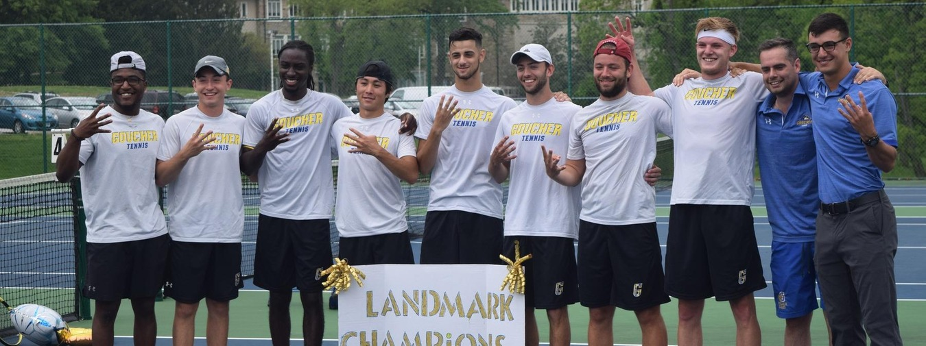 Goucher Men's Tennis Heads To Middlebury College For NCAA Division III Championships