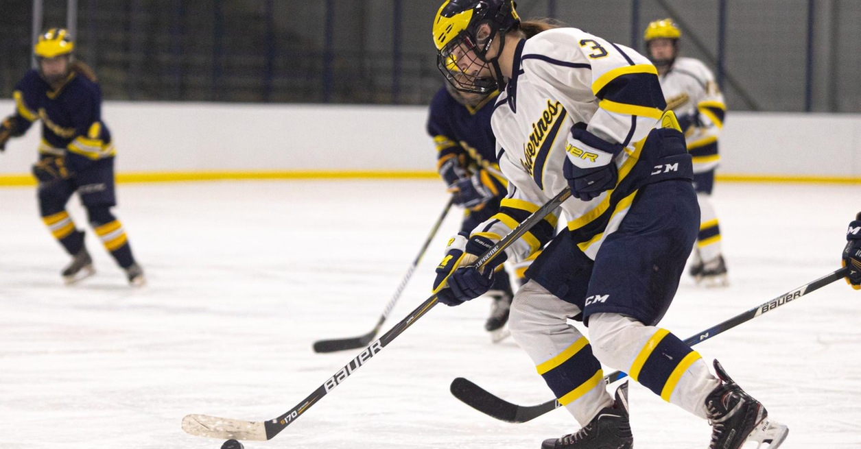 Maguire hat trick leads No. 2 Wolverines at Sault
