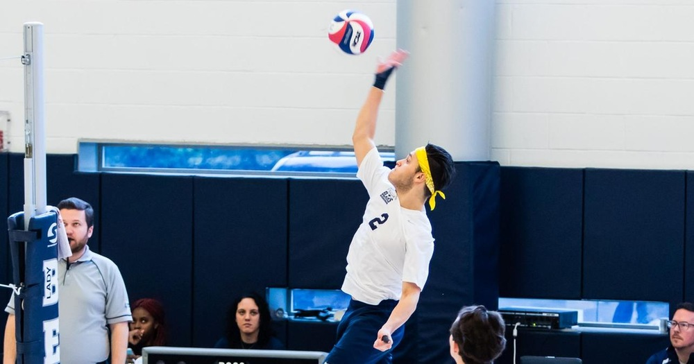 Men's Volleyball Returns To The Hill Center Hosting Staten Island and Rutgers-Newark in Tri-Match