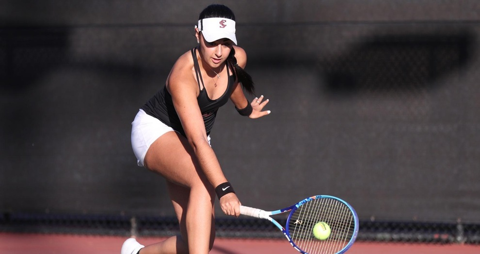 Women's Tennis Edged by Portland in Friday's Conference Opener