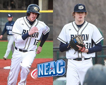 Bissell, Holsworth named NEAC Baseball Student-Athletes of the Week