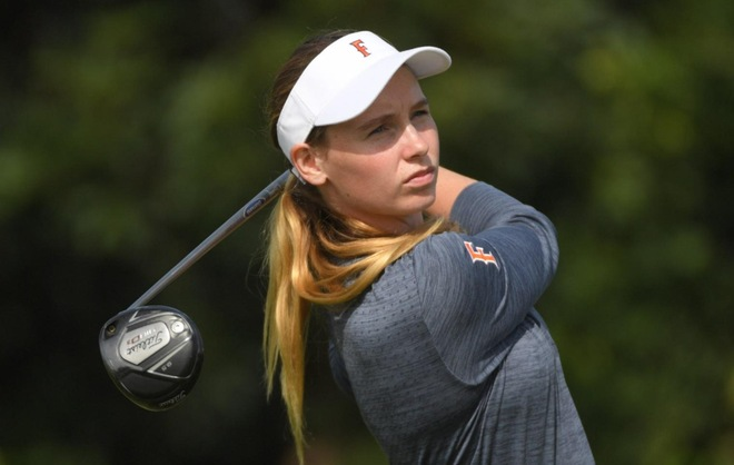 Women's Golf in Eighth Place at the UCI Invitational