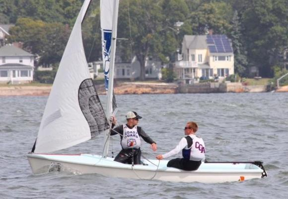 Turley and Fanning Named NEISA Sailors of the Week
