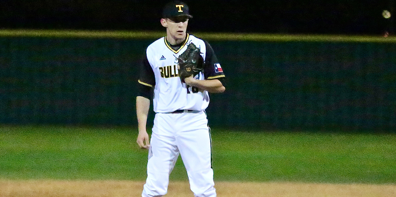 Dylan Drgac, Texas Lutheran University, Co-Pitcher of the Week (Week 5)