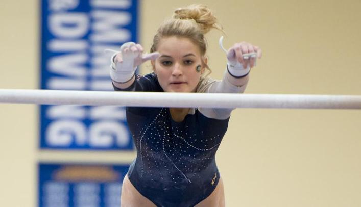 Women's Gymnastics Takes Second at John Zuerlein Invitational