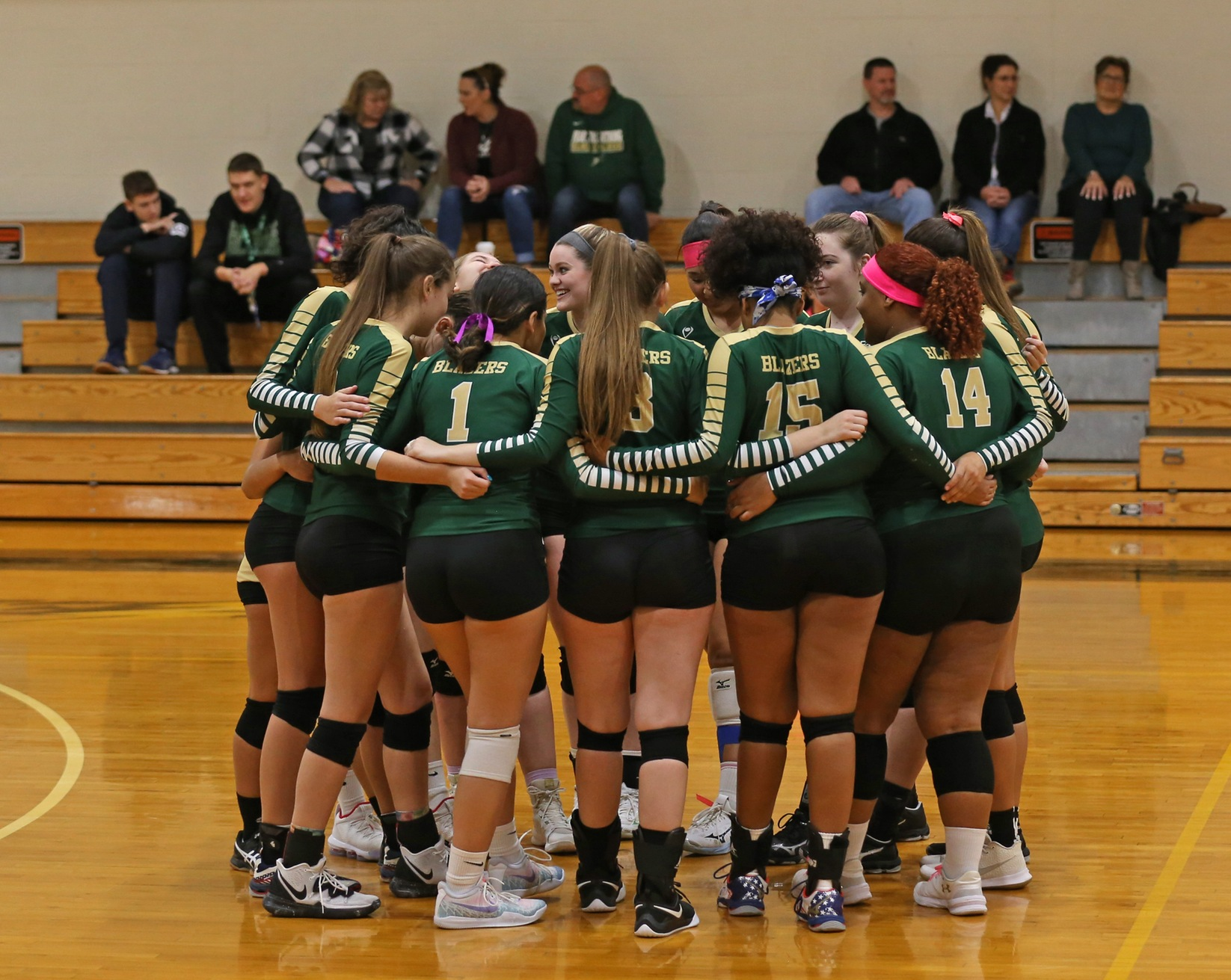 Women's Volleyball Comes Up Short In NECC Semi-Finals
