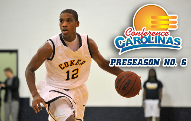 Coker Men's Basketball Picked Sixth in Preseason Poll