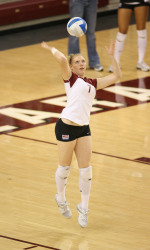 No. 22 Bronco Volleyball Falls 3-2 In Heartbreaker To Notre Dame