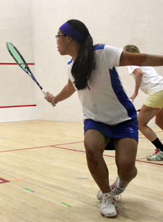 Blue Squash Competes at Pioneer Valley Invitational