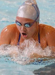 Strong Start for the Blue as Swimming Opens Season at New England Invite
