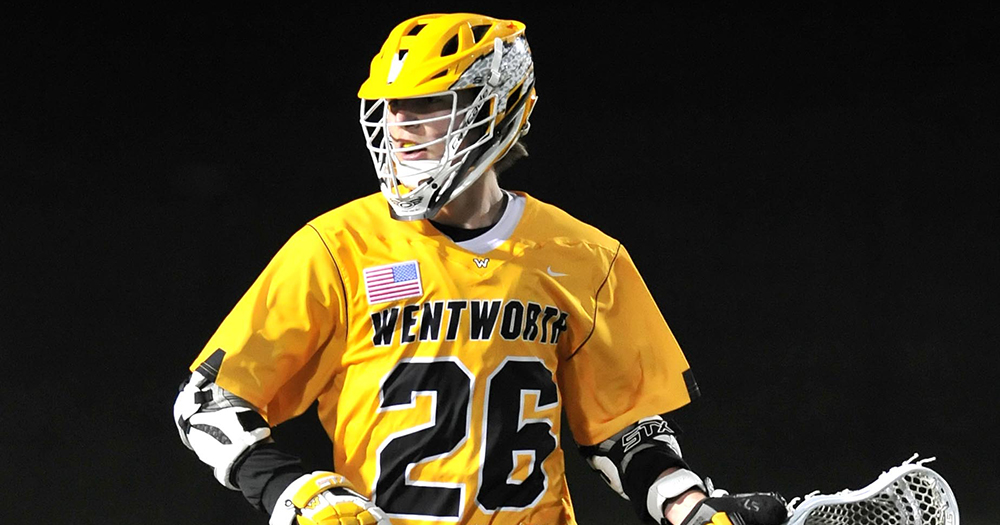 Doner Reaches Career Century Mark in Men's Lacrosse's Loss to Wheaton