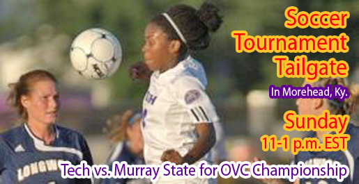 Tailgate to begin at 11 a.m. EST as soccer faces Murray State for OVC crown at 1 p.m.