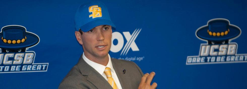 Checketts Era Begins on Friday when Gauchos Open 2012 Season vs. Oregon State