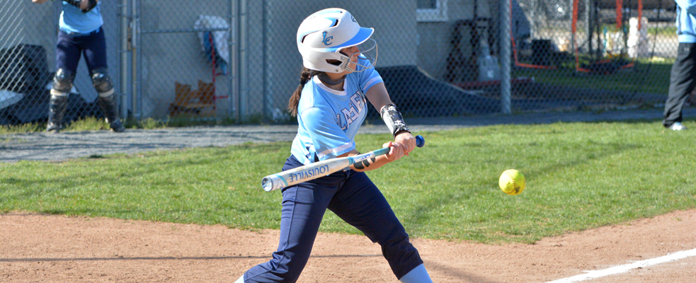 Softball Drops Two to Rivier