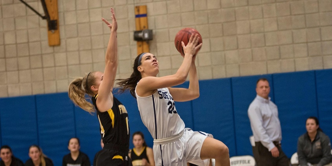 DiCecco, Hackett Anchor Women's Basketball's Second Half Comeback at Curry