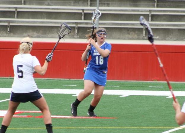 McCurry Scores Four, But Lax Falls