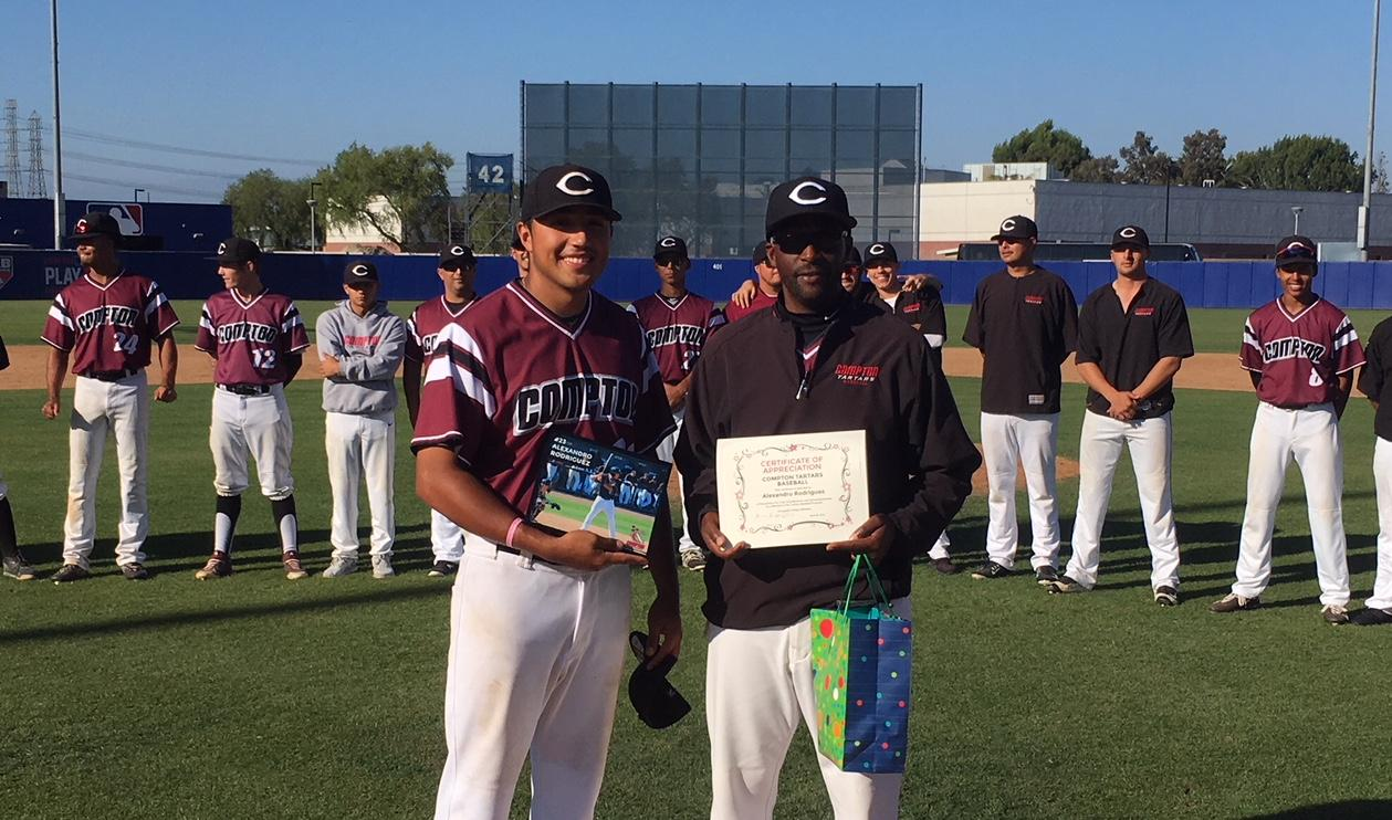 Rodriguez Honored on Sophomore Day against El Camino