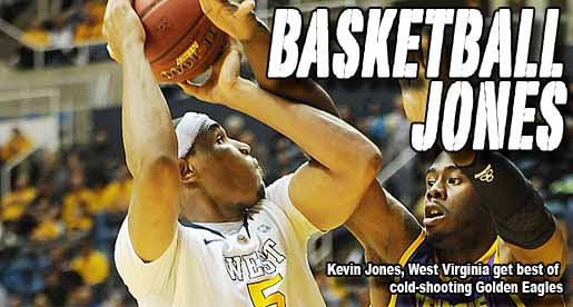 Three-game winning streak ends at hands of West Virginia, Kevin Jones