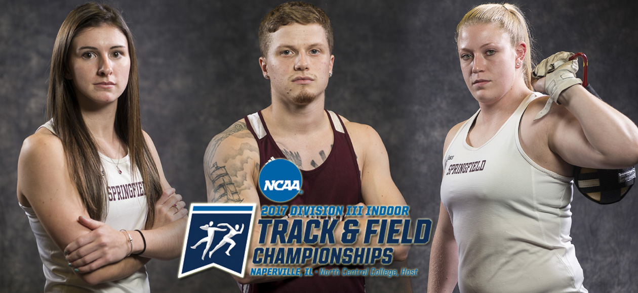 Luscier, Markos and Niemiec to Represent Springfield College at NCAA Division III Indoor Track and Field Championships