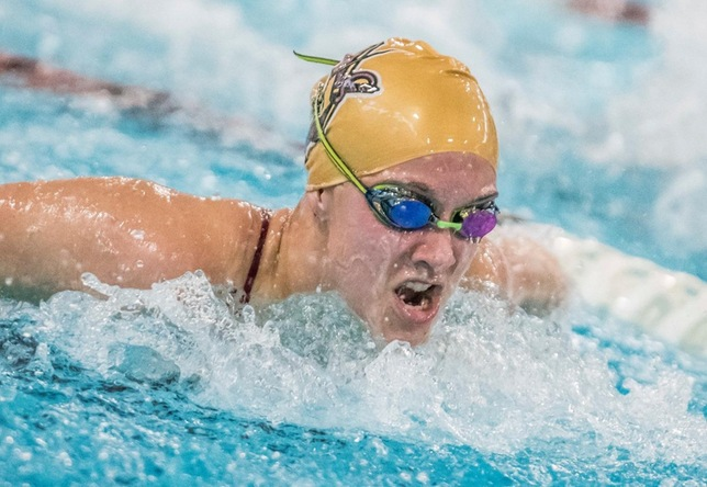 Swimming & Diving: Falcons Sweep Cadets in 2018 Finale