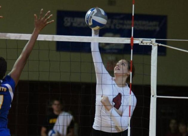 Guilford Drops 3-0 Volleyball Decision at Bridgewater