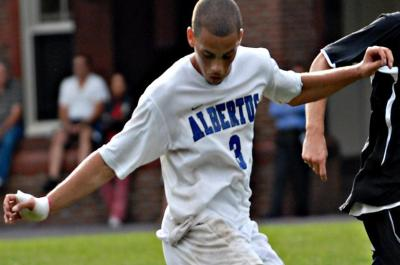 Falcons Shutout Emerson 2-0 in Men's Soccer
