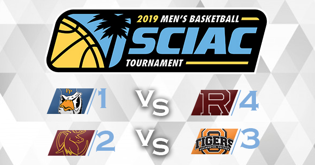 SCIAC Men's Basketball Postseason Tournament Field Set