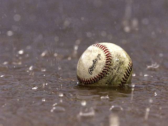 Baseball Rained Out at Walsh