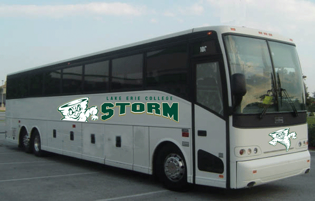 Get on Board! LEC Provides Fan Bus to Football Opener at Gannon