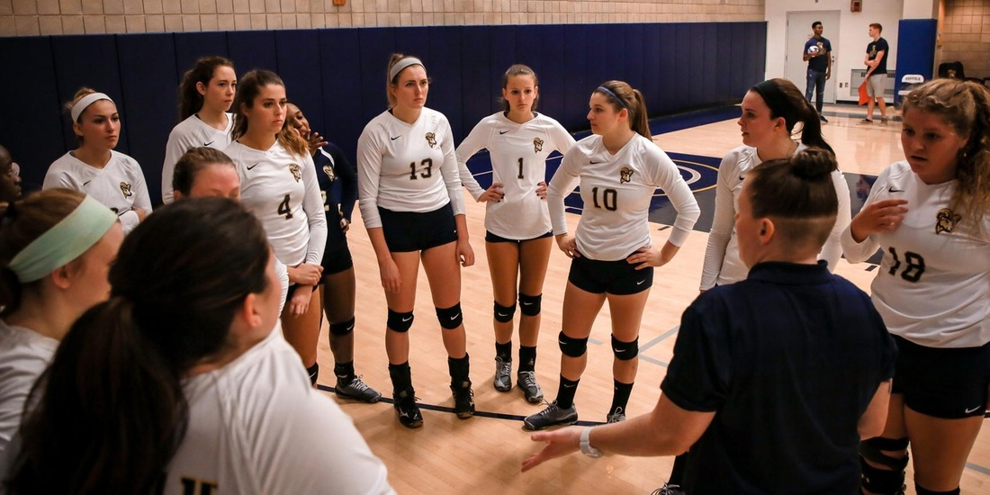 Volleyball Slips in Five at Colby Sawyer